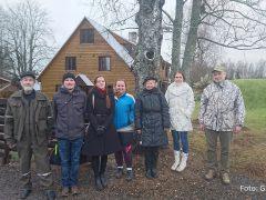 (vasakult paremale) Elmar Arak, Andres Lust, Liis Saks, Laura Viidik, Tea-Mai Tammaru, Karin Kogermann, Ain Raal